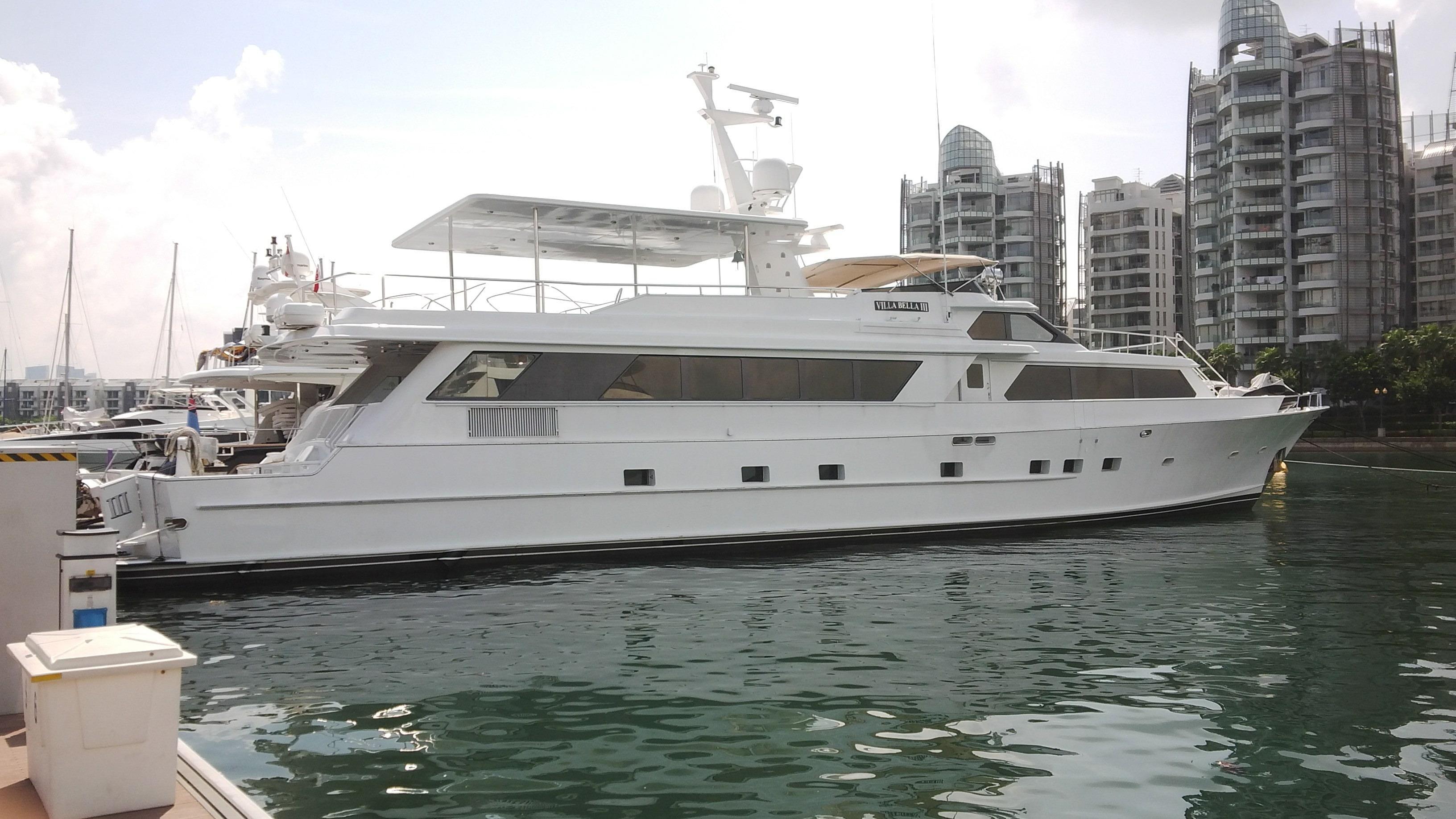 1991 denison raised bridge cockpit m y moteur bateau for Denison motors denison tx
