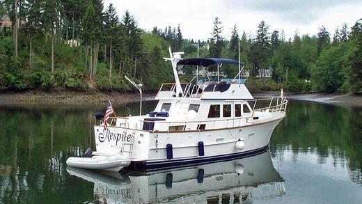 1980 Ocean Alexander Tri Cabin Trawler