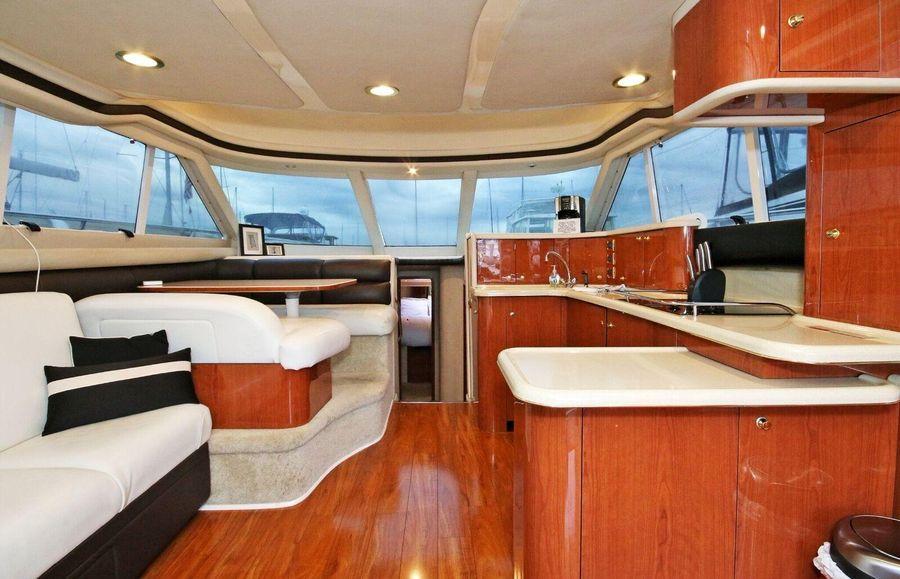 Sea Ray 480 Sedan Bridge Interior