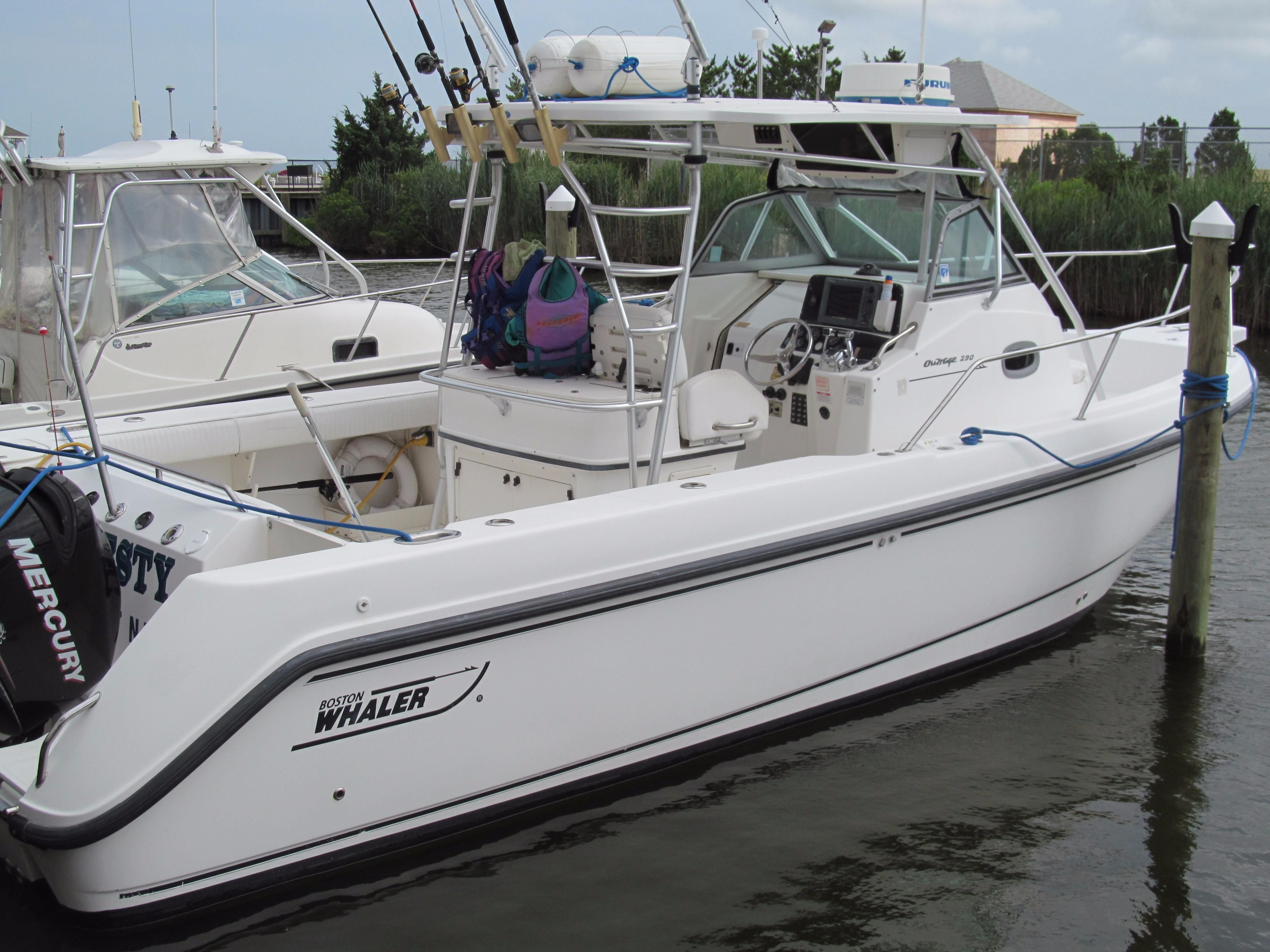2003 Boston Whaler 29 Outrage Power Boat For Sale - www ...