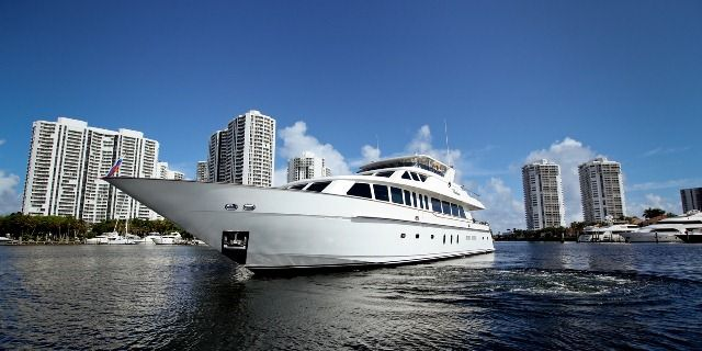 Hargrave at the Miami Boat Show