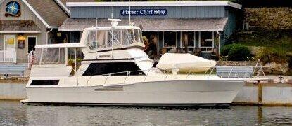 1989 Viking Yachts 44 Double Cabin Motor Yacht