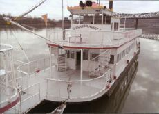 1983 Excursion Passenger Sternwheeler 115 Passenger Dinner Cruise Boat