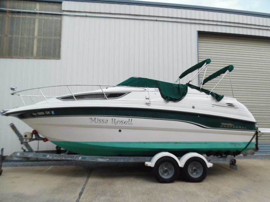 1999 Chaparral Signature 260 Power Boat For Sale Www