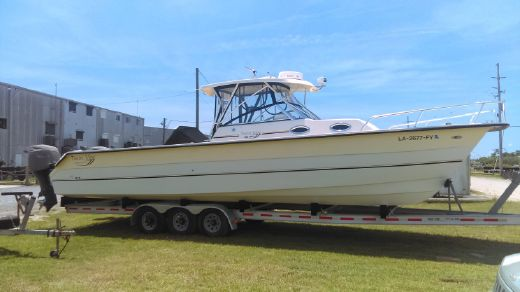 2008 Twin Vee 36SC/w trailer