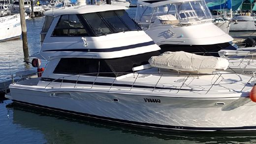 2002 Riviera 48 Platinum Enclosed flybridge