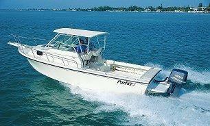 2001 Parker 2510 Deep Vee Walkaround
