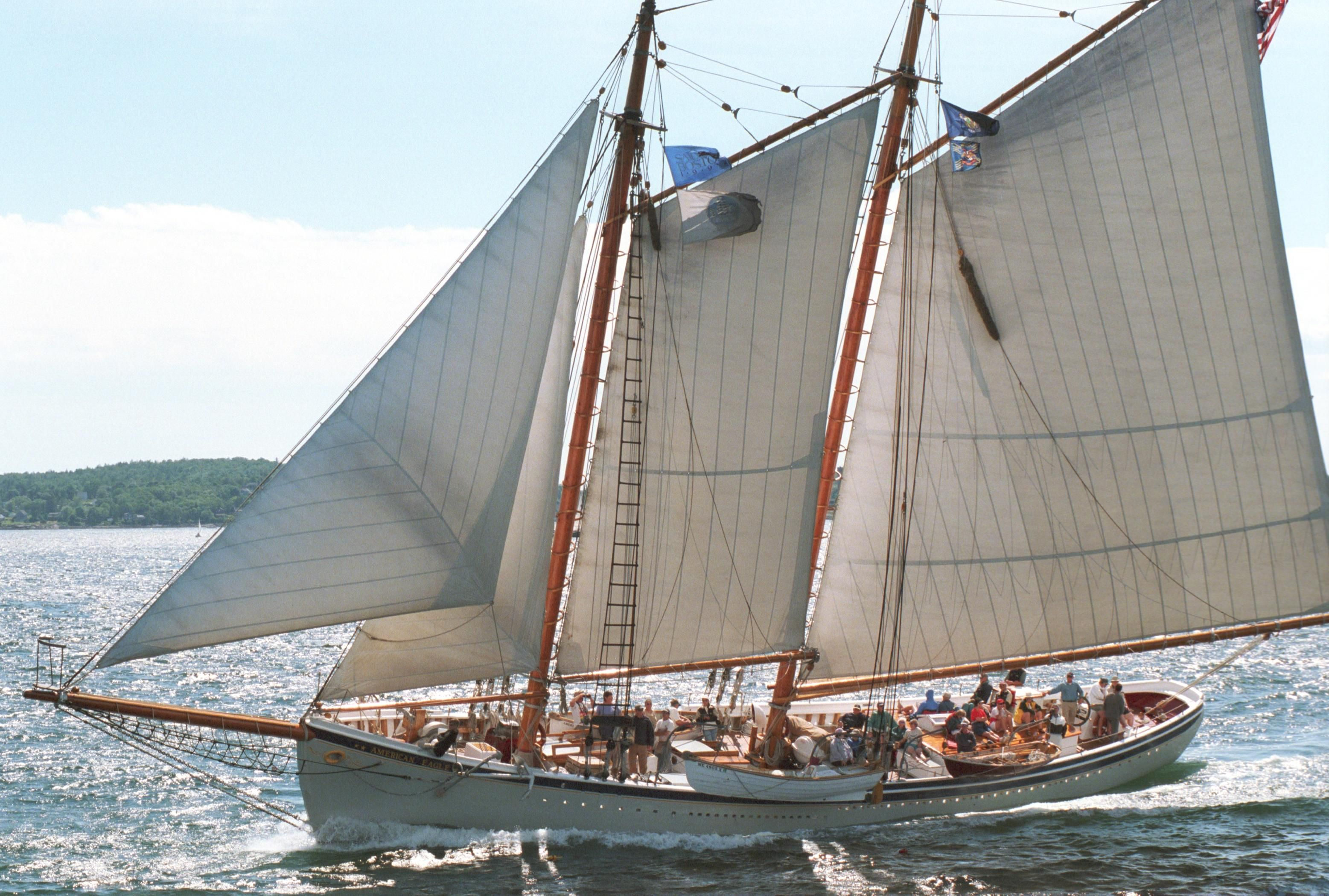 1930 custom gloucester fishing schooner sail boat for sale for Fishing boat dealers near me