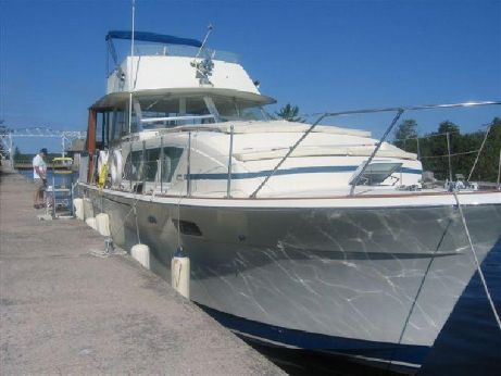 1973 Chris Craft 410 Commander