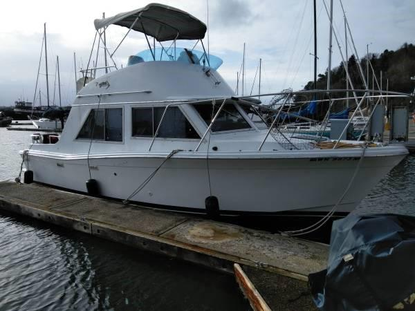 1977 Uniflite Mega Power Boat For Sale Www Yachtworld Com