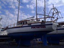 1981 Nauticat 52 Ketch Cutter Pilot House