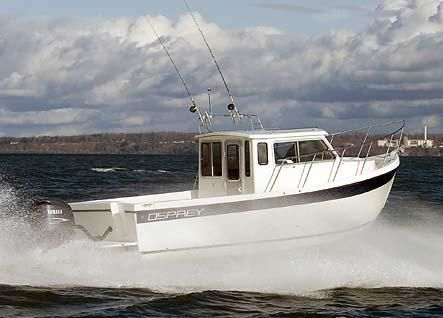 2007 Osprey Pilothouse 24 Fisherman