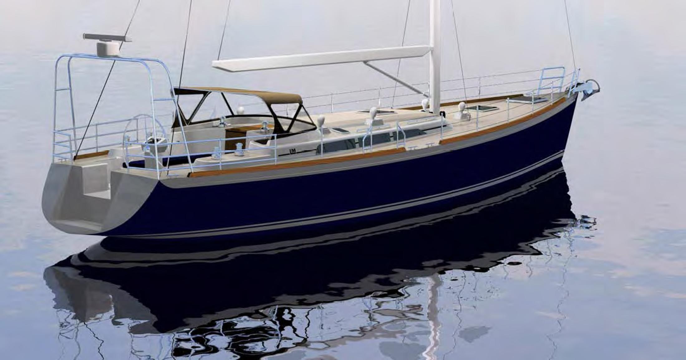 2017 Lyman Morse LM 55 - Seguin Series Sail Boat For Sale