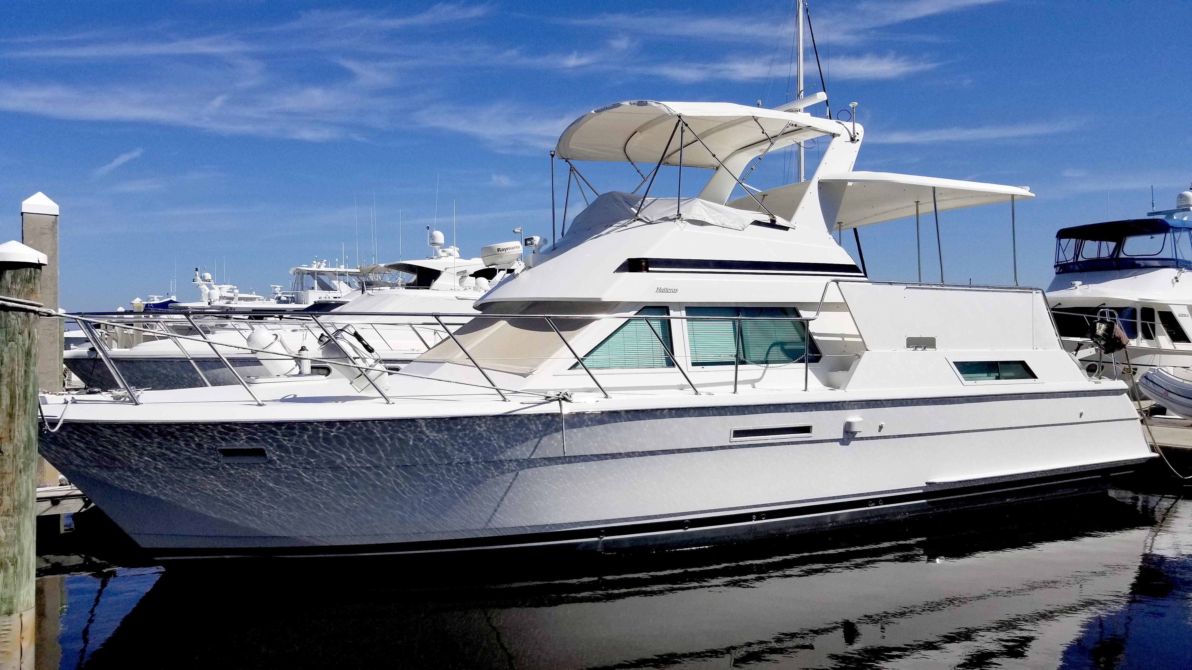1995 Hatteras 42 Cockpit Motor Yacht Se Power New And Used