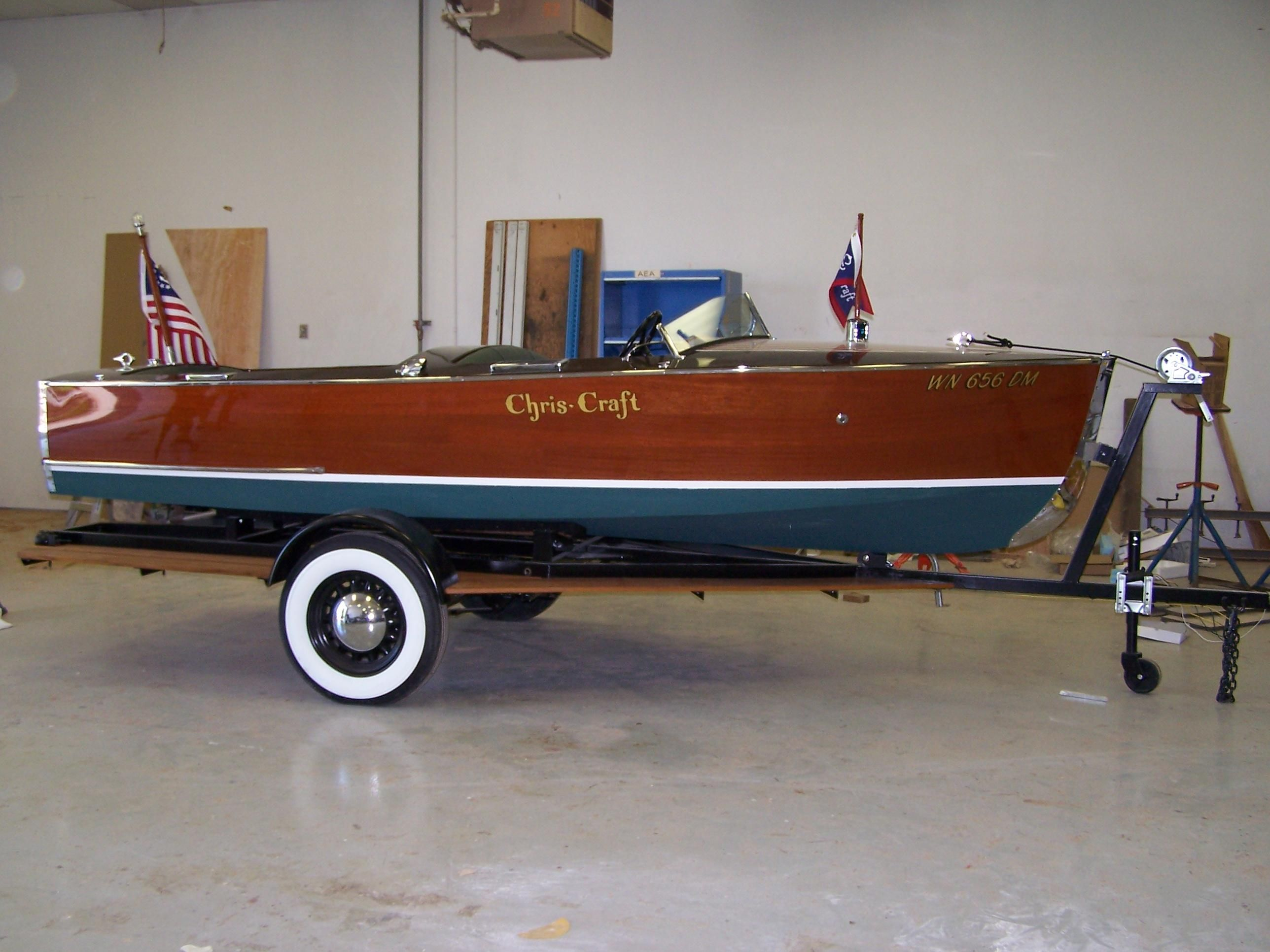 1939 chris craft sportsman runabout restored motor b d til for Chris craft boat club