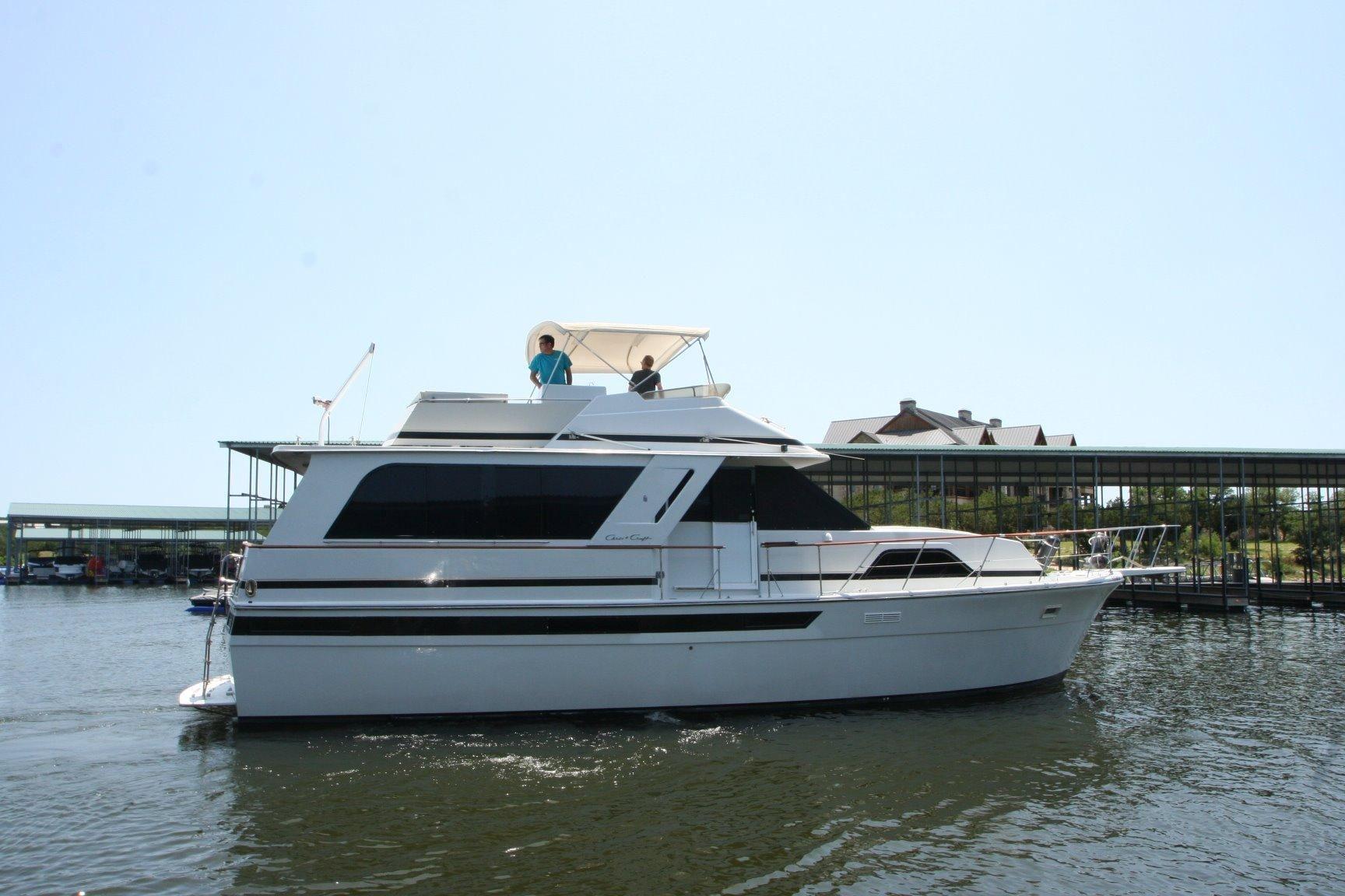 1988 chris craft 501 motor yacht power boat for sale www. Black Bedroom Furniture Sets. Home Design Ideas