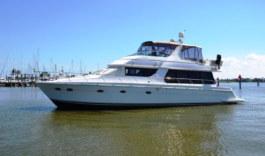 2001 Carver 570 Voyager Pilothouse