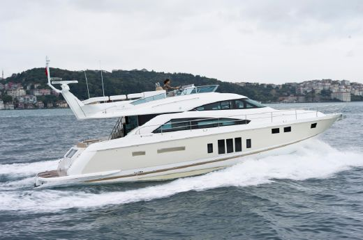 2012 Fairline Squadron 58 (1/4 SHARE)