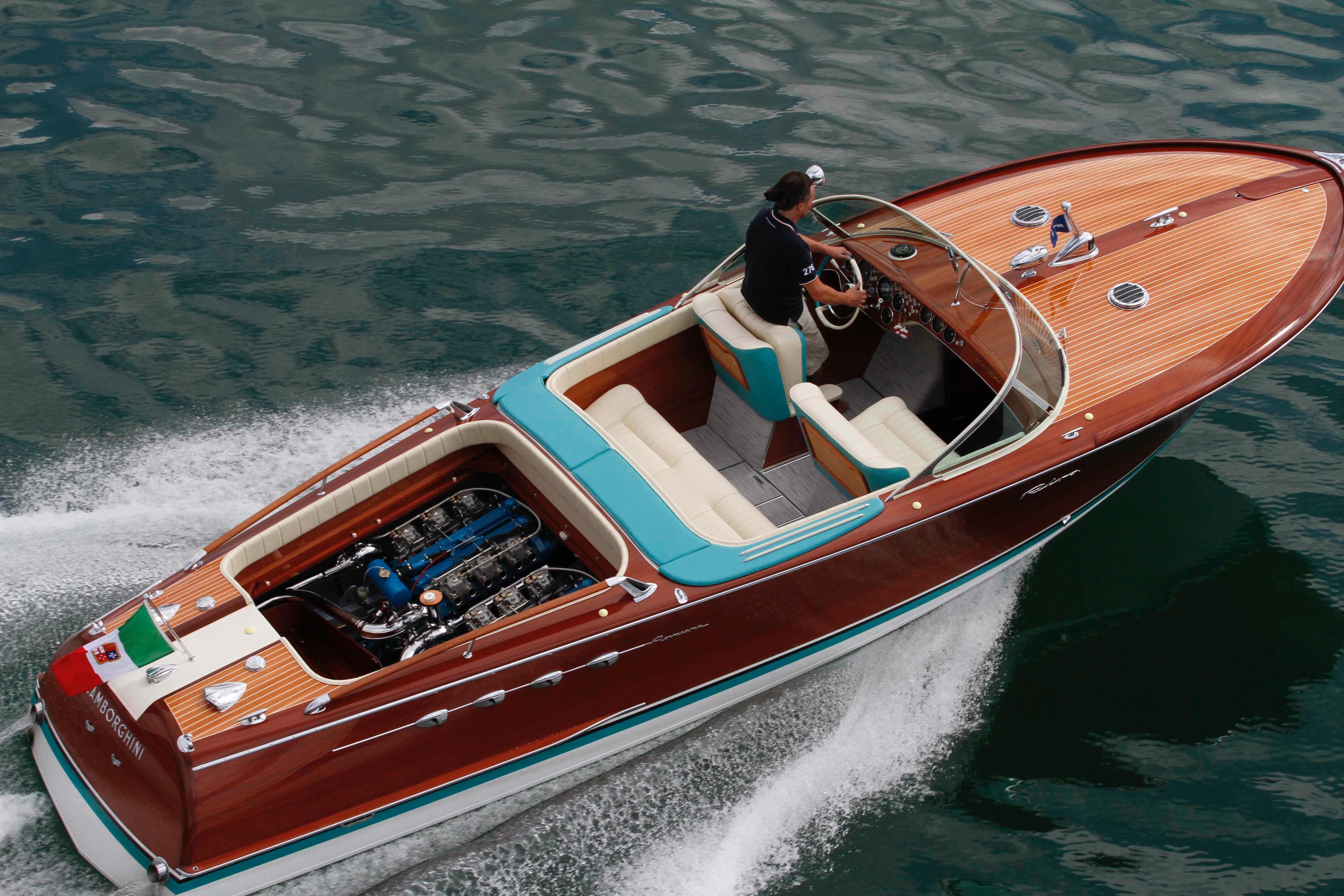 1968 Riva Aquarama Lamborghini Power Boat For Sale Www