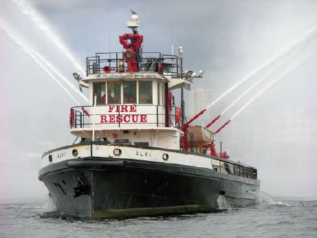 1927 Custom Steel Hull (Retired) Fire Boat