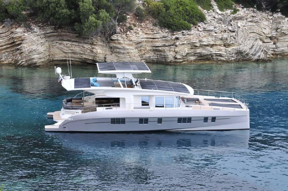 2016 Silent Yachts Solar Wave 64 Power Catamaran For Sale