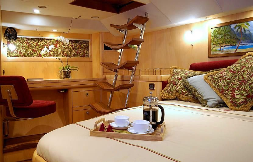 Oyster 72 Master Stateroom