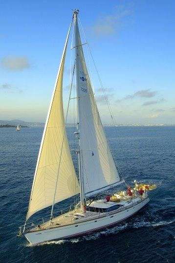 Oyster 72 Sailboat profile