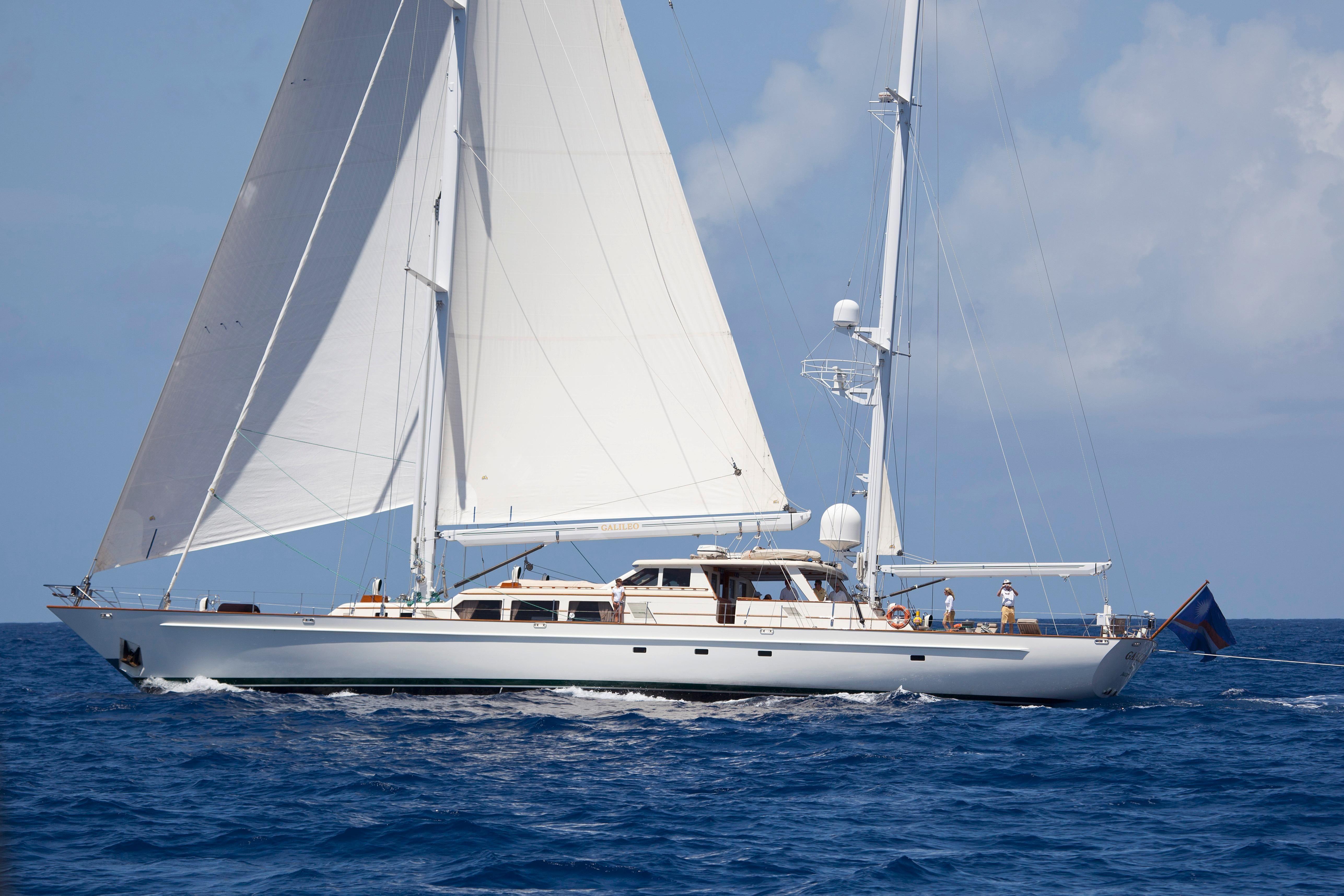 1989 Palmer Johnson Custom Offshore Ketch Sail Boat For