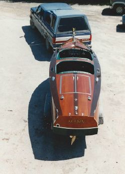 1936 Gar Wood Double Cockpit Runabout