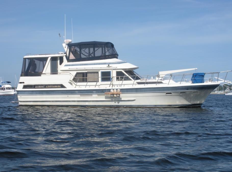 1986 Vista Motor Yacht Power Boat For Sale - www.yachtworld.com