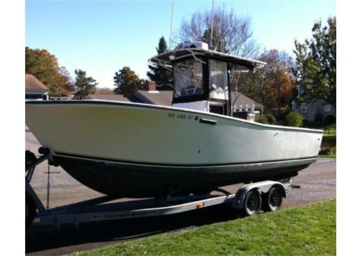 26 ft 1992 albemarle 262 center console