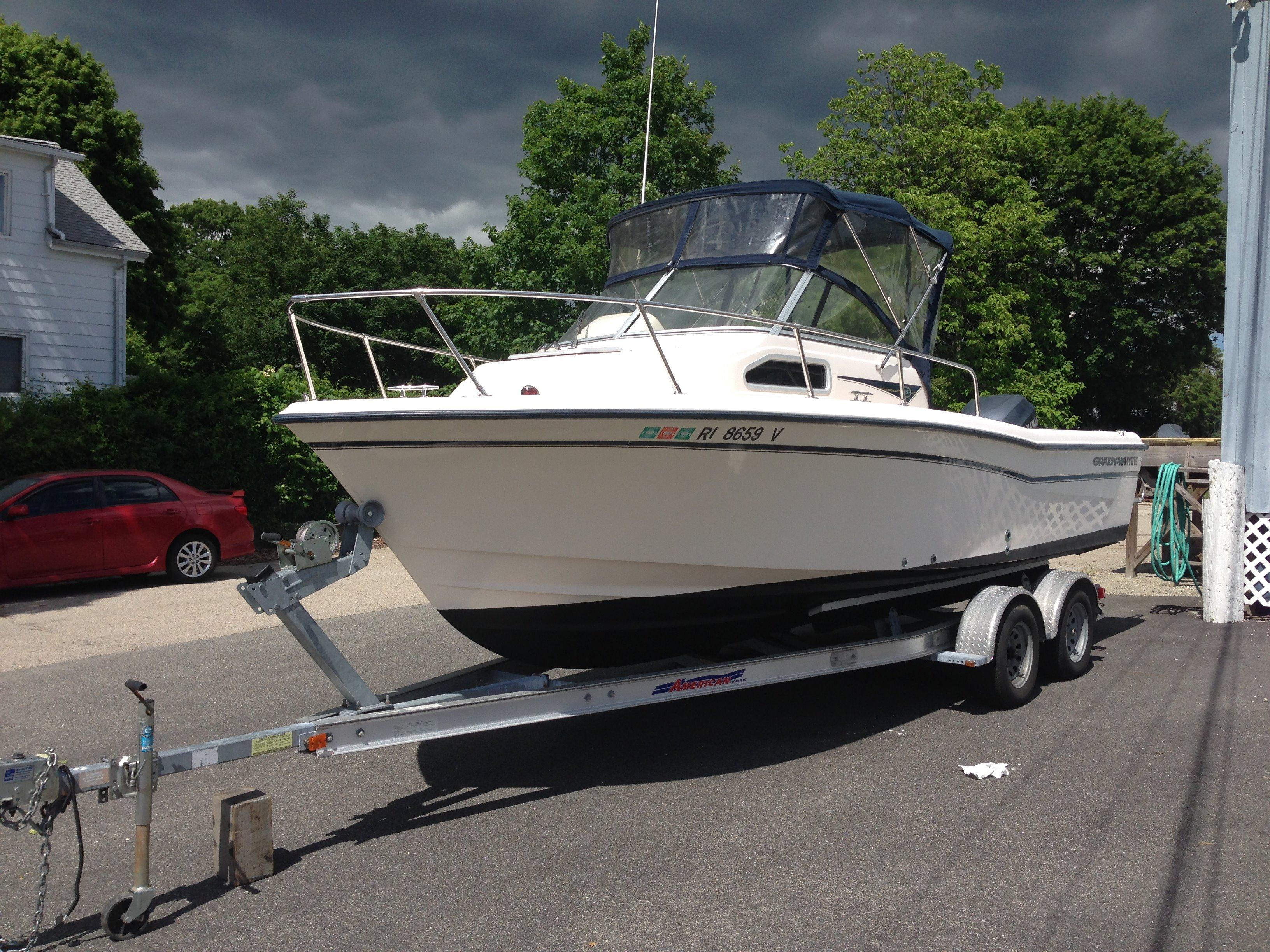 22 ft 2004 grady-white 226 seafarer wa
