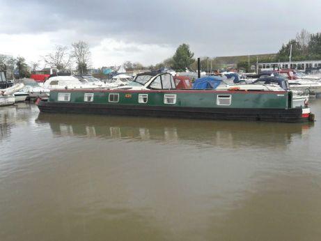 2000 Narrowboat 65' Semi - Traditional Stern