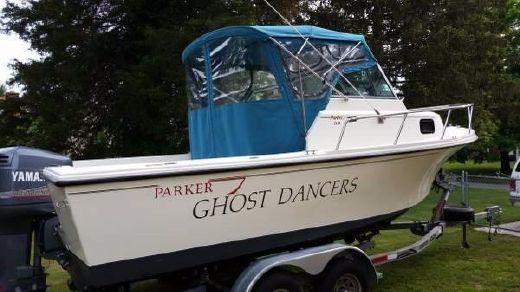 1988 Parker 21 Walkaround Sport Cabin