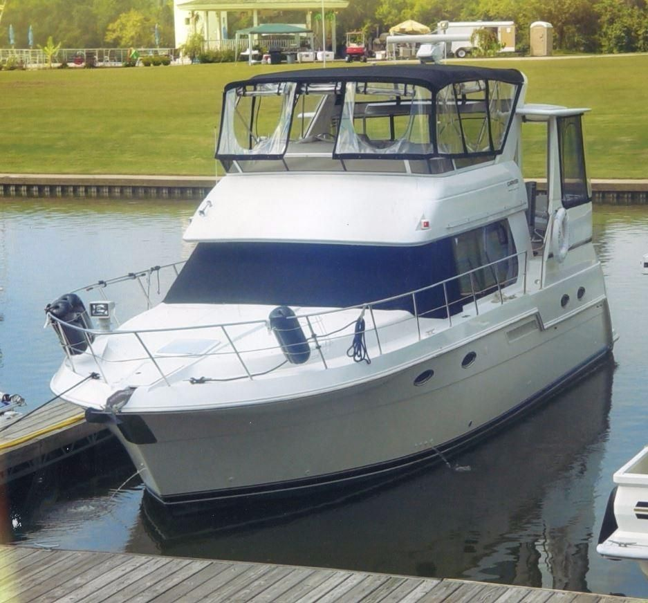 2000 Carver 406 Aft Cabin Motor Yacht Power New And Used Boats