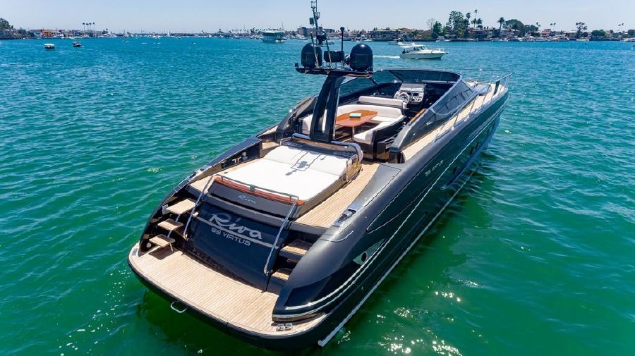 Riva 63 Virtus Luxury Yacht for sale in Newport Beach
