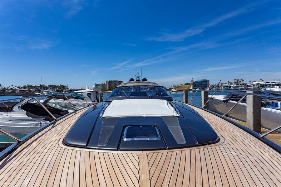 Riva 63 Virtus Luxury Yacht Bow