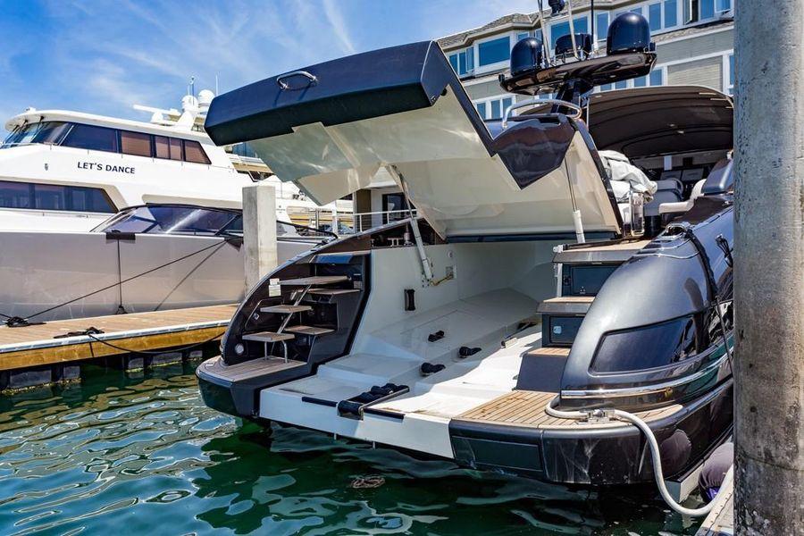 Riva 63 Virtus Luxury Yacht Garage