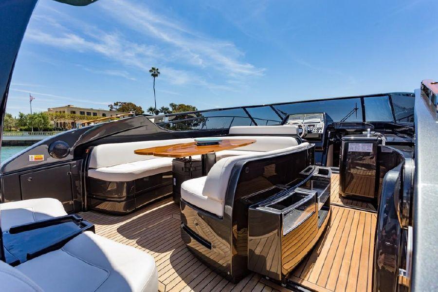 Riva 63 Virtus Luxury Yacht Cockpit