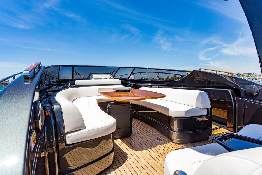 2016 Riva 63 Virtus Luxury Yacht Lounge Seating