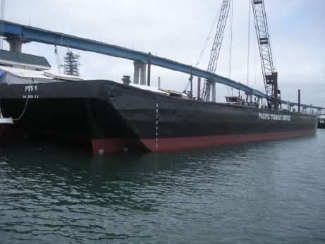 1975 160' Steel Barge Certified ABS
