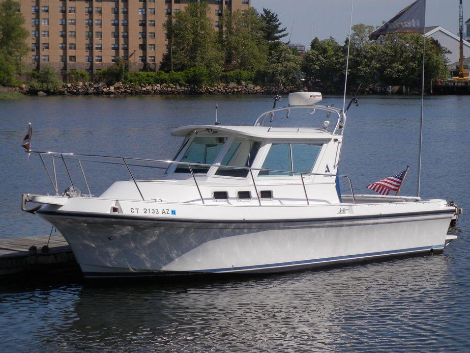 1996 Albin 28 Tournament Power Boat For Sale - www