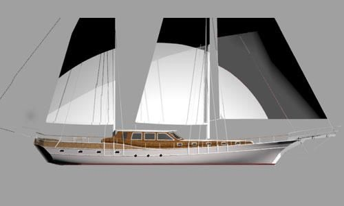 2016 Custom Built Gulet Motorsailer Project
