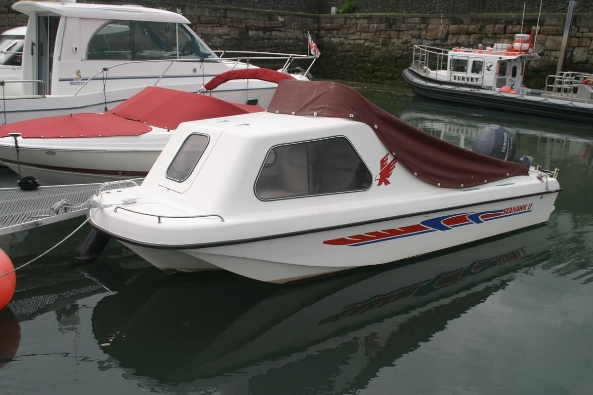 2005 sea hawk 17 power boat for sale for Seahawk boat paint
