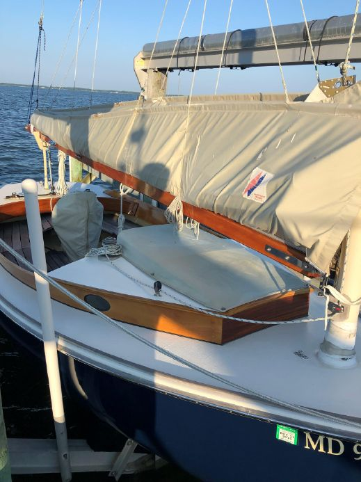 2012 Custom Catboat With Marconi Rig Sail Boat For Sale - www