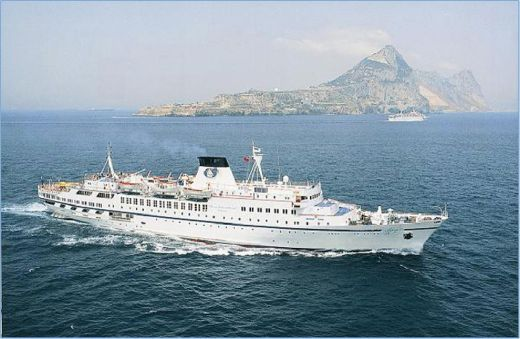 1965 118m 1965 Cruise Ship, 300 Passengers - Stock No. S2103