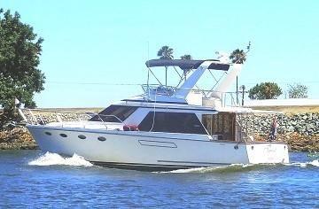 1989 Ocean Alexander 42 Sedan