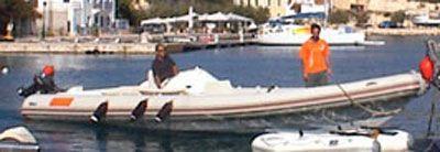 2006 Bluefin rib