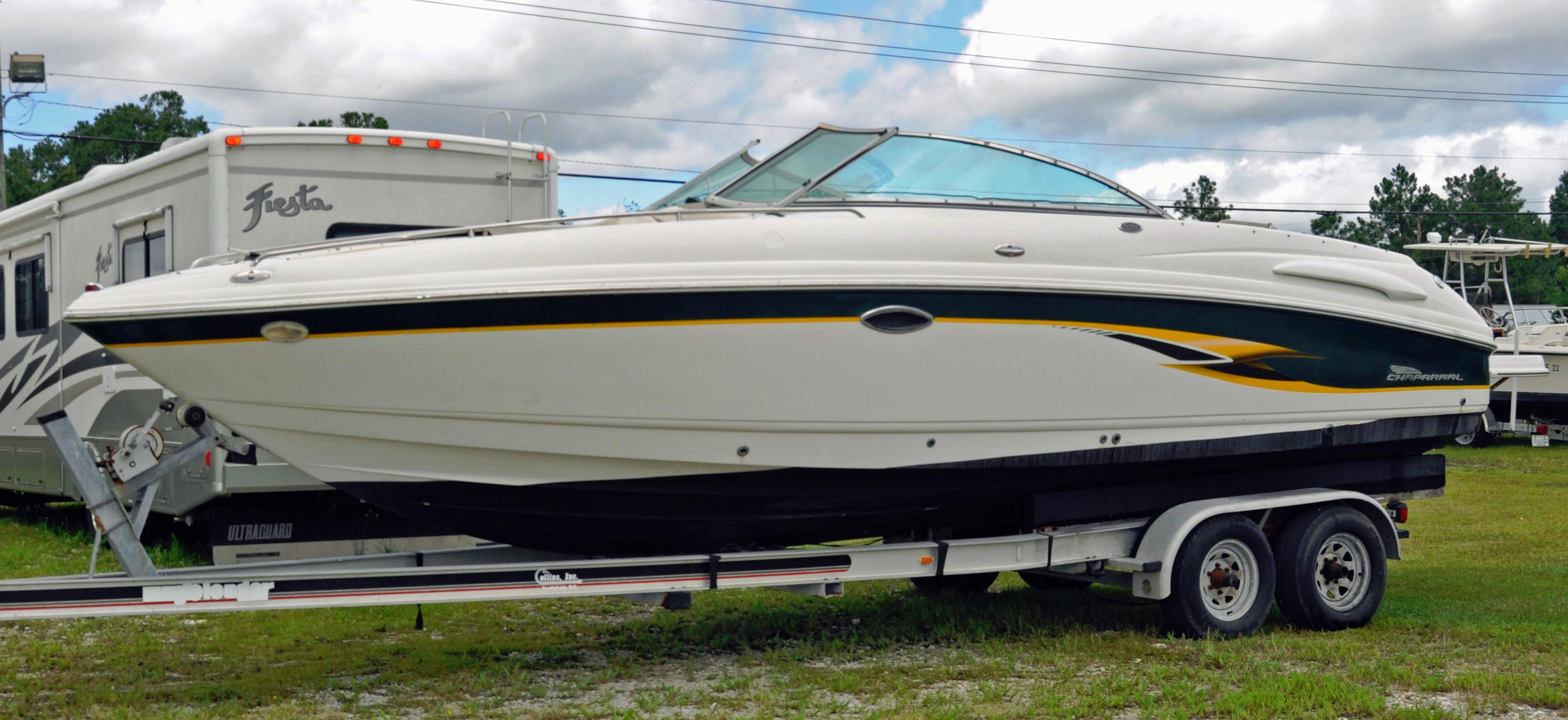 24 995 2001 chaparral 260 ssi power boat wilmington nc