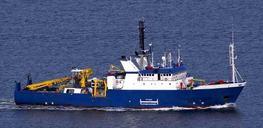 1972 Custom Survey Support Vessel